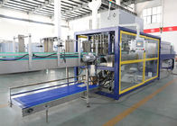 PE Film Plastic Bottle Shrink Wrap Equipment , Heat Shrink Tunnel Machine
