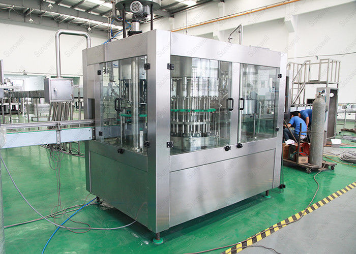 Pure / Mineral Packaged Drinking Water Filling Machine Full Automatic Low Noise