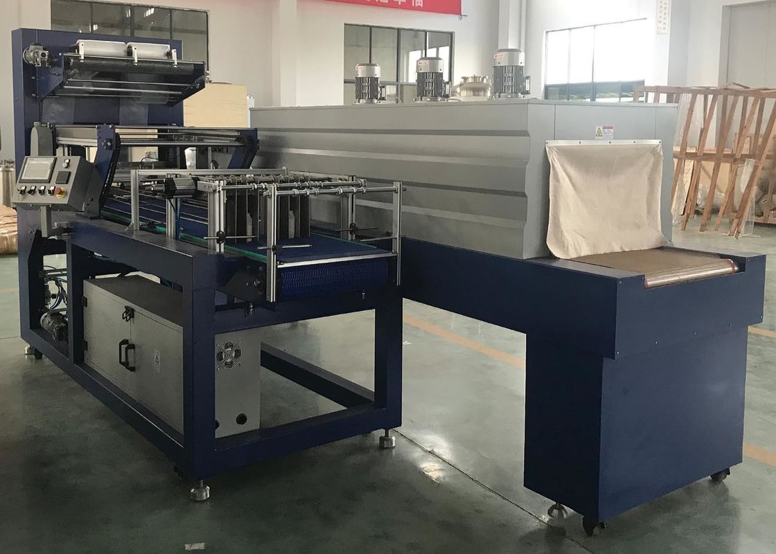 Durable Shrink Packaging Equipment , Shrink Wrap Sealer Machine For Bottle