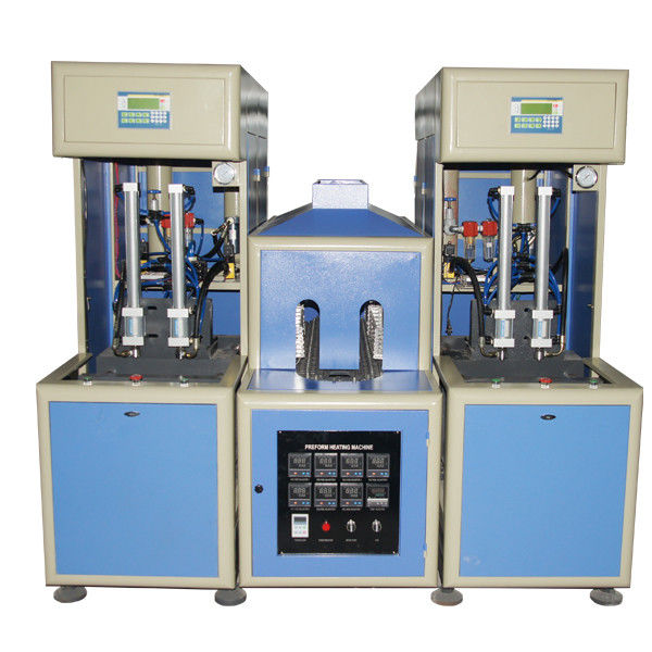 2 cavity Semi automatic Hot Filling Bottle Blow Molding Machine for PET bottle 50 - 2000ml