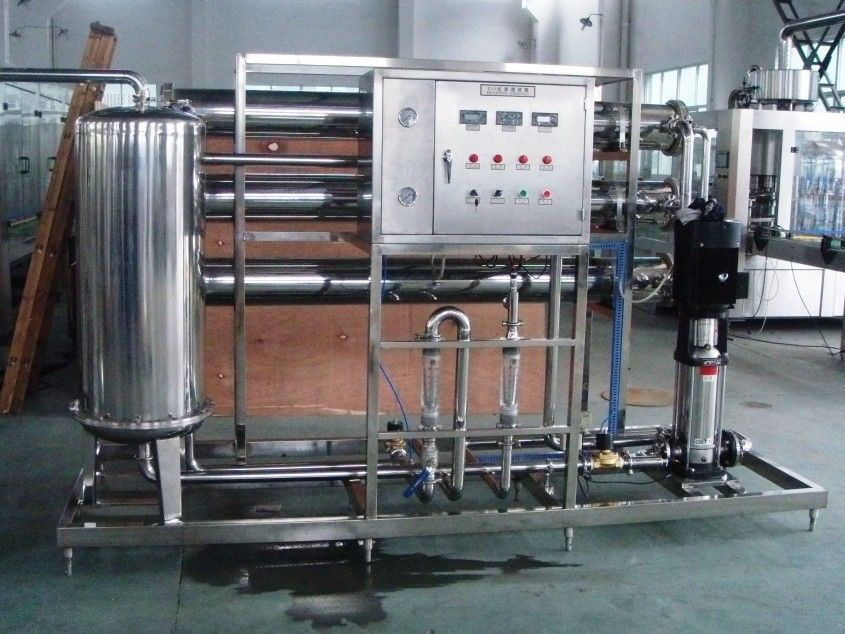 2 stage RO Water Treatment Equipments for preparation of water for beverage industry nhà cung cấp