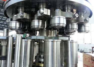Trung Quốc can filling line and seaming carbonated beverage beer, CSD 40 heads Aluminum Can Filling Machine nhà máy sản xuất